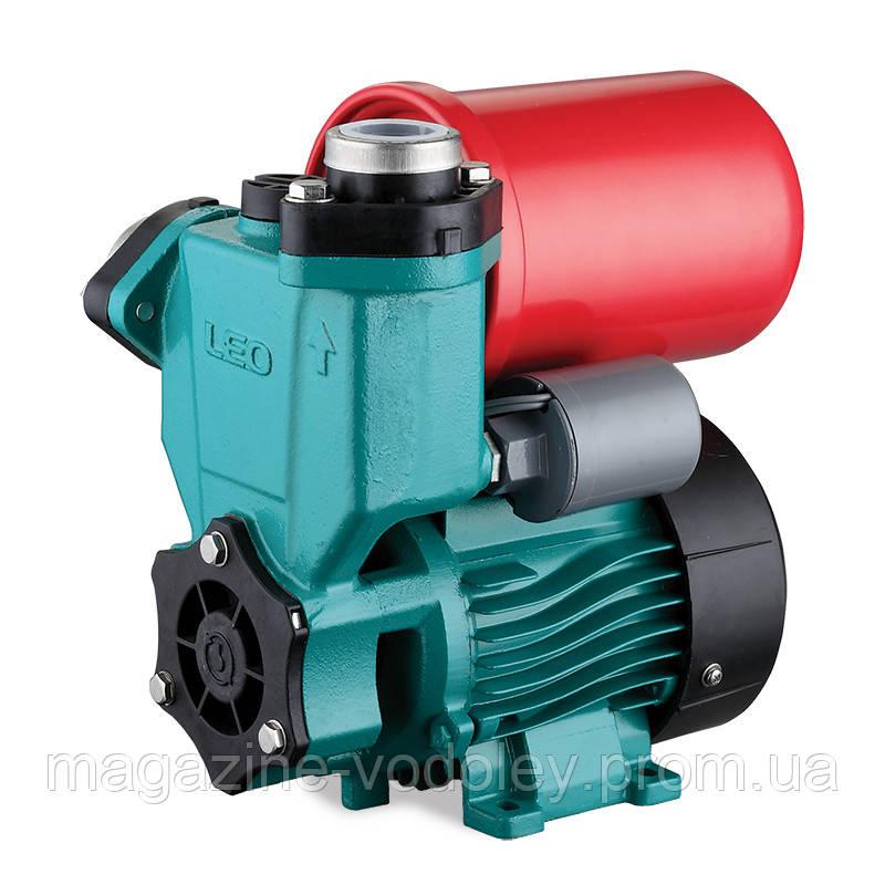 Станція 0.125 кВт Hmax 30м Qmax 30л/хв (вихровий насос) 1л LEO (776111)