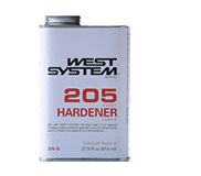 Отвердитель WEST SYSTEM 205, 1 кг