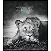 "Тетрадь 36 листов клетка Школярик ""Strong heart"" УФ лак 036-2556 K"