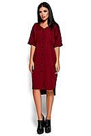 Стильное платье марсала, фото 1