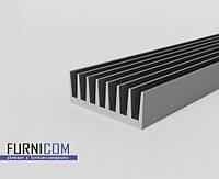 Радиаторный профиль алюминиевый 72х26 / б.п.