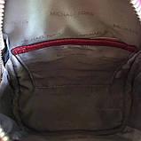 Рюкзак, портфель Майкл Корс мини в красном цвете, натуральная кожа, фото 7