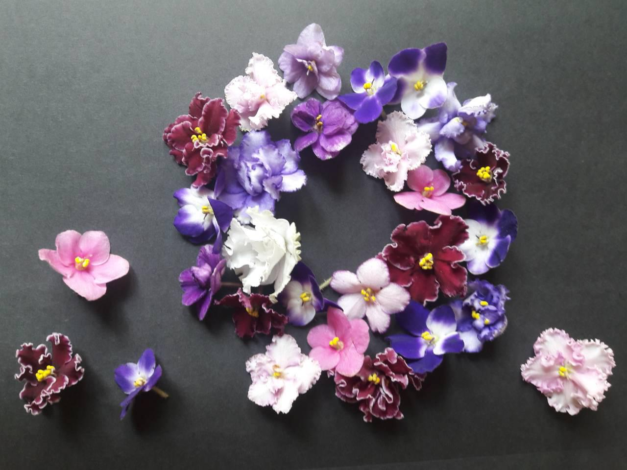 Цветы съедобные в ассорт. - 06088