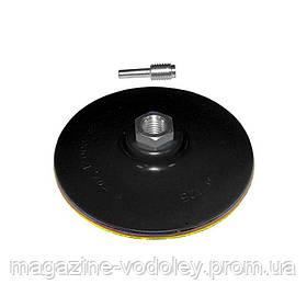 Диск шлифовальный резиновый с липучкой жесткий Sigma Ø125мм (9181151)