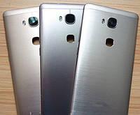 Задняя панель корпуса ( Крышка) для Huawei 5X Honor GR5 (Серая)
