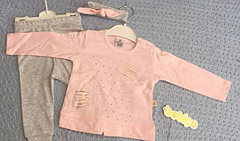 Детский костюм для девочек 6-12 месяцев