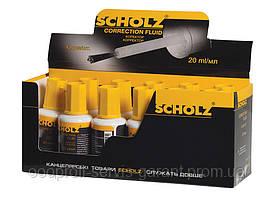 """Коректор з пензликом """"Scholz"""" 20мл 4910 Fluid"""