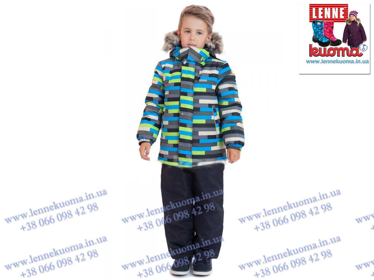 Зимний комплект для мальчиков LENNE ROBIS 18320D-3300. Размер 104