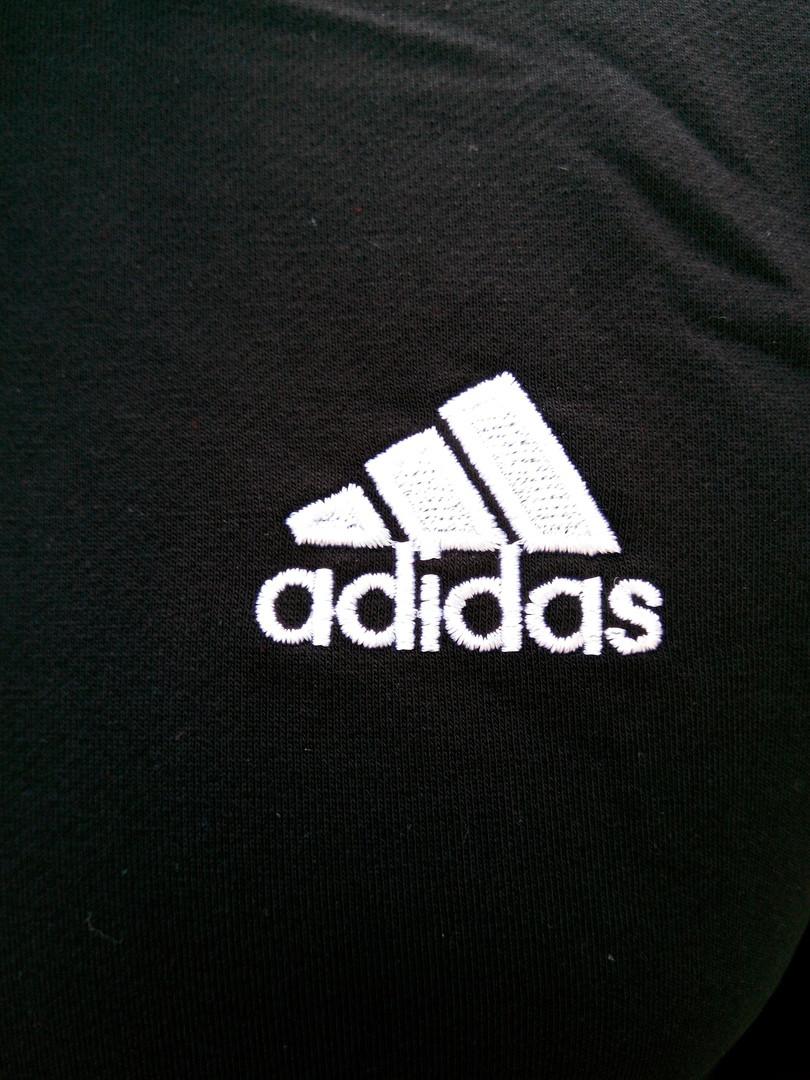 Мужской спортивный костюм Adidas.Красный/Черный/Синий.KD-1568