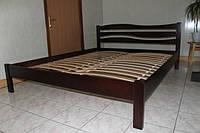 Волна кровать деревянная  двуспальная