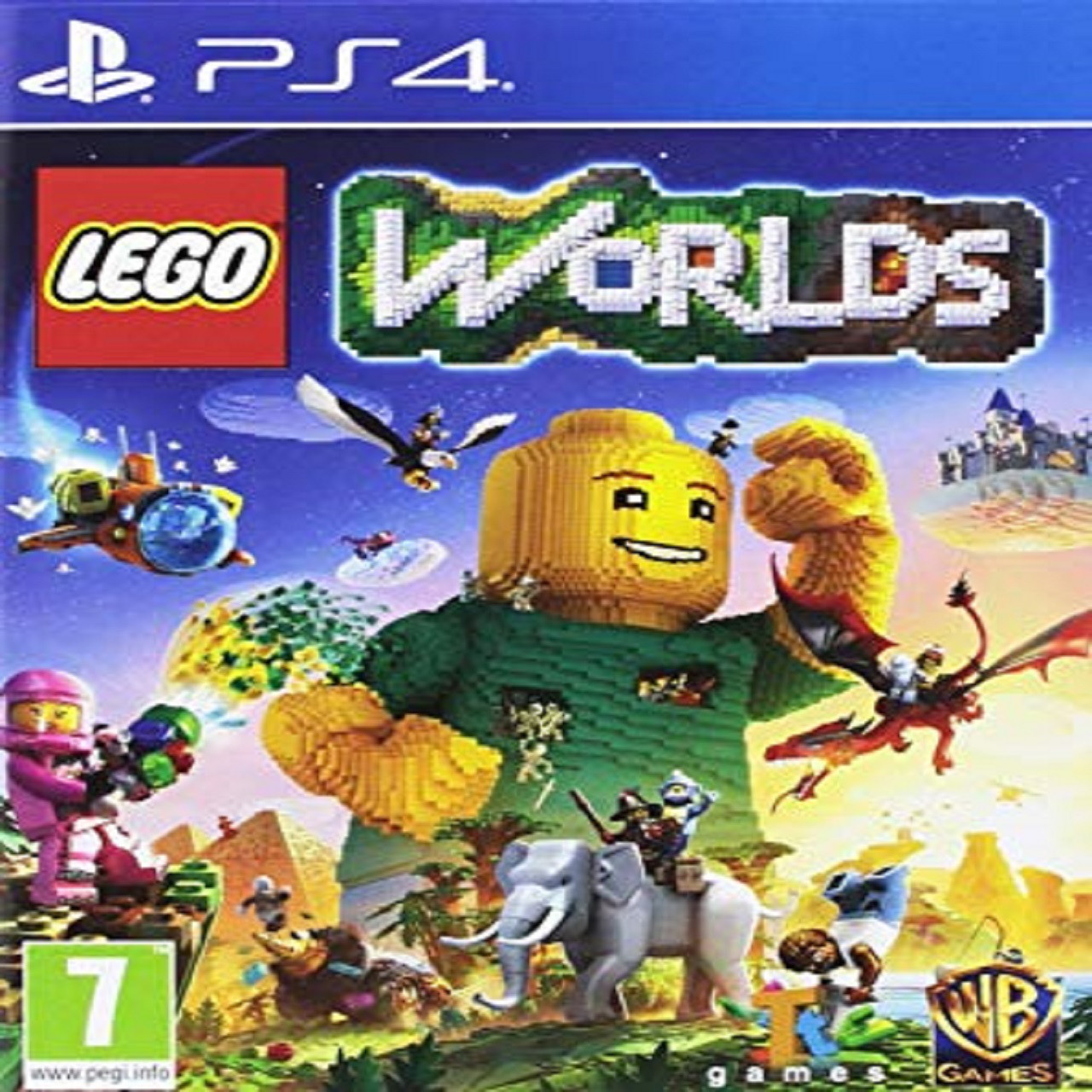 LEGO Worlds ENG PS4 (Б/В)