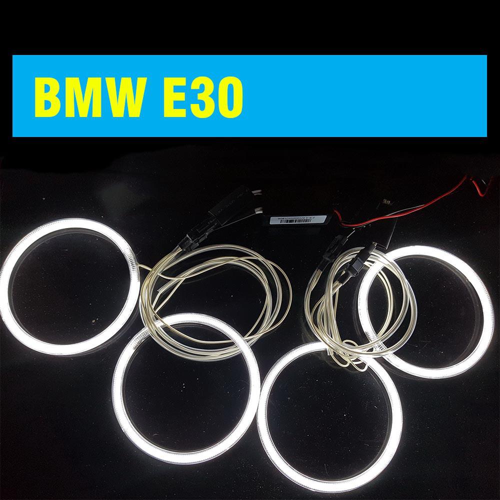 Ангельские глазки (4*120 мм) CCFL для BMW E30 белые