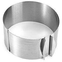 Форма для выпечки раздвижная круглая 8,5 см