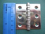 Нержавеющая петля 60х60х1,5, фото 3