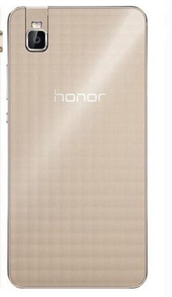 Задняя панель корпуса ( Крышка) для  Huawei Honor 7i  (Золотая)