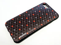 Чохол для iPhone 7 силіконовий Remax з малюнком трикутники