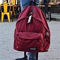 Рюкзак EASTPAK Dark Red Топ Реплика Хорошего качества