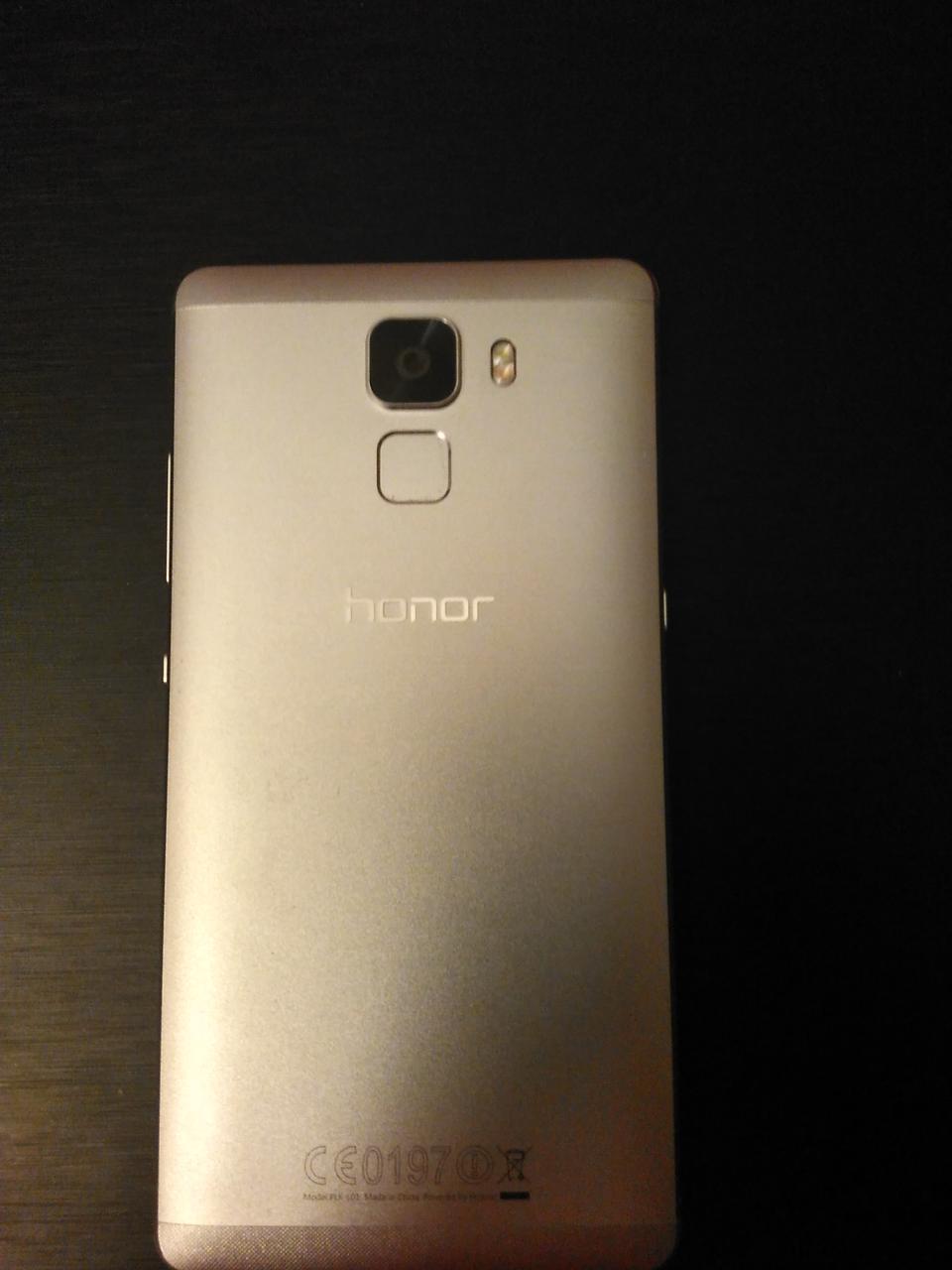Задняя панель корпуса ( Крышка) для Huawei Honor 7 (PLK-L01) (Золотая)