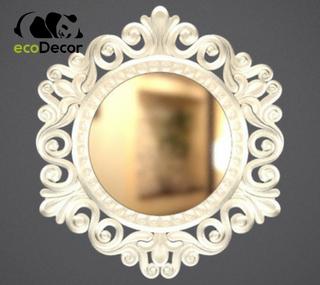 Зеркало настенное Accra в серебряной раме