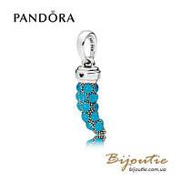 Pandora Кулон-подвеска АМУЛЕТ КОРНО #397203EN168 серебро 925 Пандора оригинал, фото 1