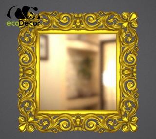 Зеркало настенное Addis в золотой раме
