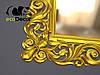 Зеркало настенное Addis в золотой раме, фото 5
