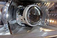 "Skoda Octavia Tour - установка биксеноновых линз Hella 3R F1 3.0"" дюйма (⌀76мм) D2S, фото 1"