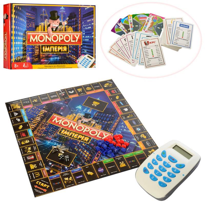 Настольная игра монополия, терминал, звук, M3801