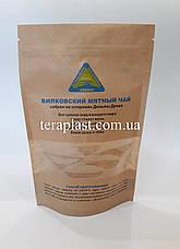 Пакет Дой-Пак крафт с окном 140х240 с логотипом 1 цвет, фото 3