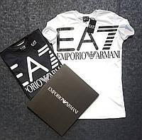 Футболка мужская Emporio Armani EA7 D3746 белая