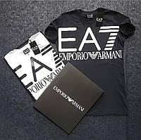 Футболка мужская Emporio Armani EA7 D3743 черная