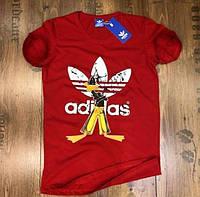 Футболка мужская Adidas D3815 красная