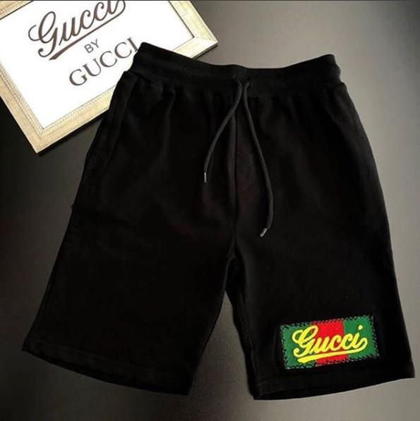 Бриджи мужские Gucci D3755 черные