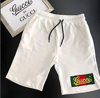 Бриджи мужские Gucci D3756 белые