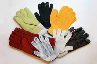 Рабочие перчатки — надежная защита рук от травм