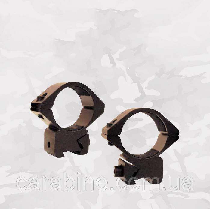 "Крепление-кольца Air Precision M2553 среднее, диаметр колец 1"" (25,4 мм), на планку ""Ласточкин хвост 11 мм"""