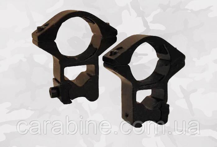 """Крепление-кольца Air Precision M2004 высокое, диаметр колец 1"""" (25,4 мм), на планку """"Ласточкин хвост 11 мм"""""""