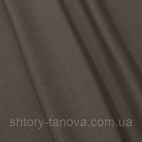 Рогожка, однотонный коричневый