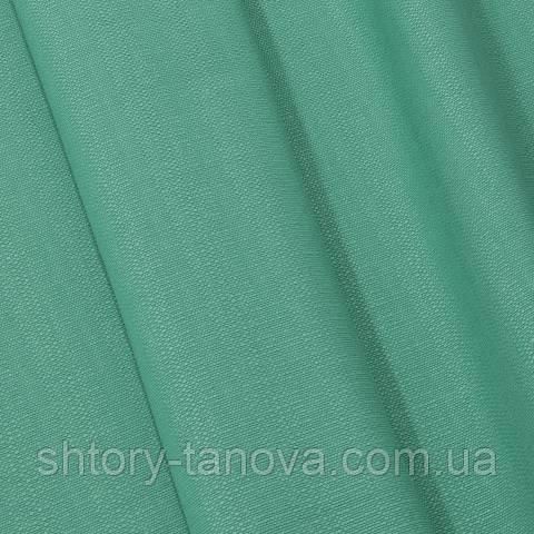 Рогожка, однотонный зелёная бирюза