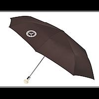 Зонт складной 300 SL MERCEDES B66041533. Оригинал. Коричневого цвета. Парасоля, фото 1