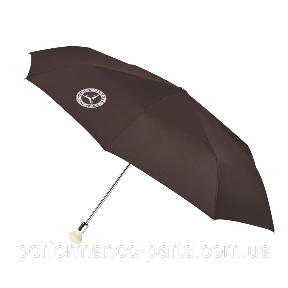 Зонт складной 300 SL MERCEDES B66041533. Оригинал. Коричневого цвета. Парасоля