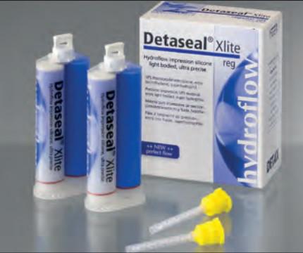 А-Силикон Detaseal  коррегирующий материал ® hydroflow Xlite, стандартное время отверждения NaviStom