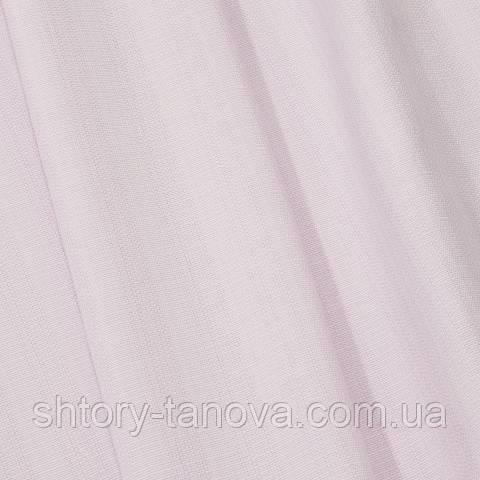 Рогожка, однотонный нежно-лиловый