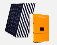 """Комплект сонячної енергосистеми """"Економ"""" інвертор LPM-SIW-30kW з сонячними панелями, фото 1"""