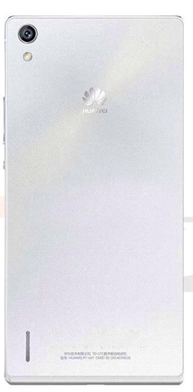 Задняя панель корпуса (Крышка) для  Huawei P7-L10 Ascend (Белая)
