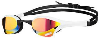 Зеркальные очки для плавния Arena Cobra Ultra Mirror Red Revo/White/Black 1E032-11