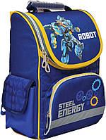 """Рюкзак каркасний """"1 вересня"""" 552749 """"Steel energy"""" 34*26*14см H-11"""