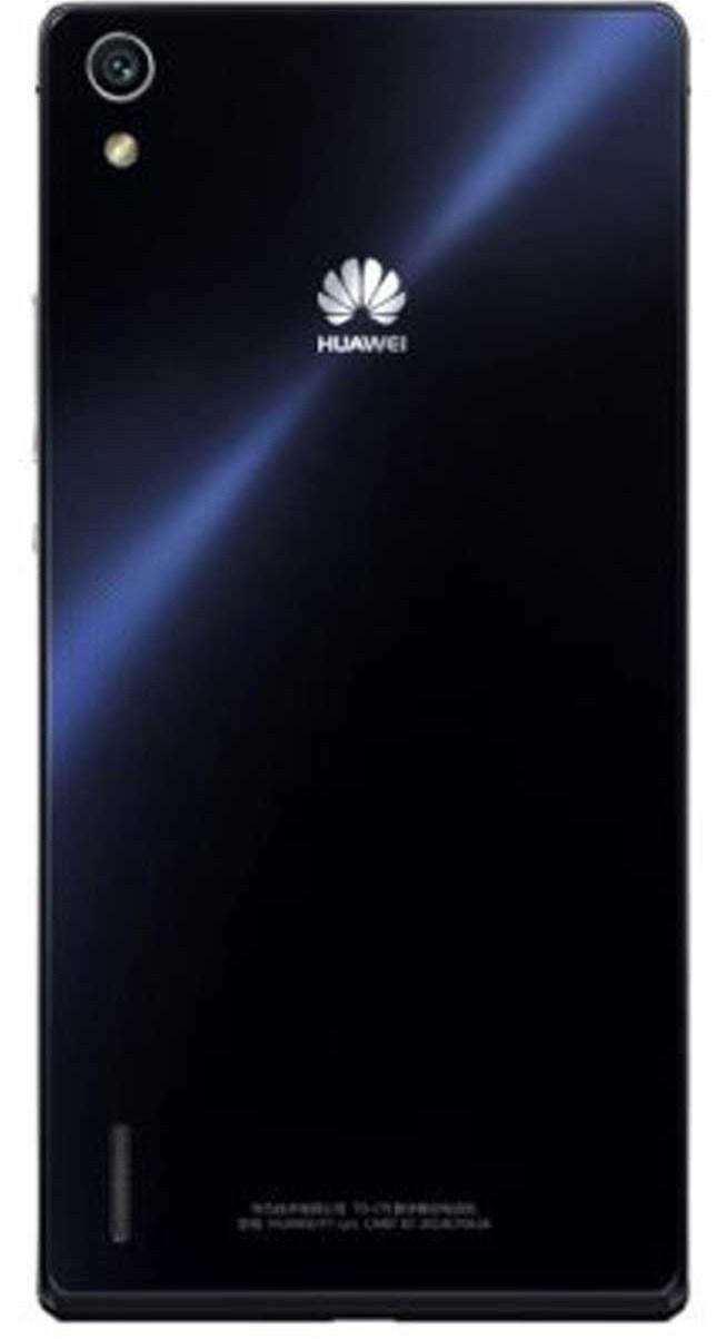 Задняя панель корпуса ( Крышка) для  Huawei P7-L10 Ascend (Черная)