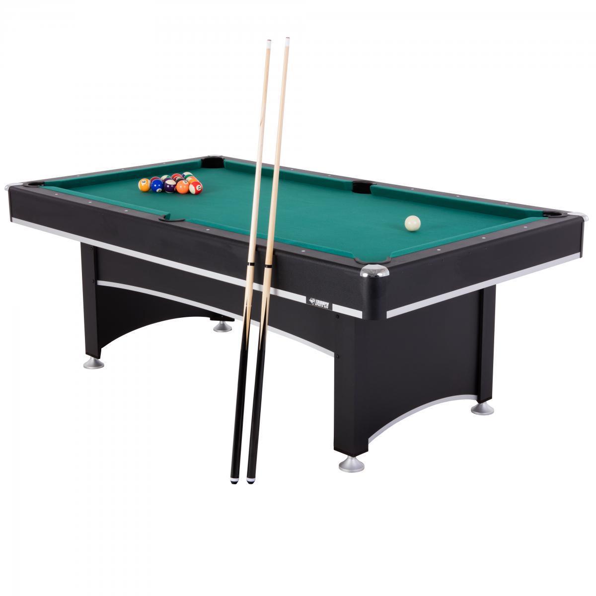 Бильярдный стол для пула ТТ-Бильярд Феникс 7Ф с теннисной крышкой