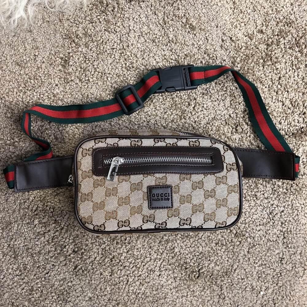 Gucci Belt Bag GG Supreme Beige